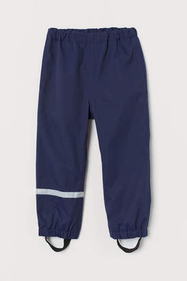 H&M Waterproof Shell Pants - Blue