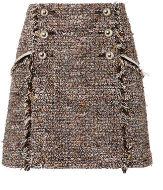 Veronica Beard Starck Mini Skirt