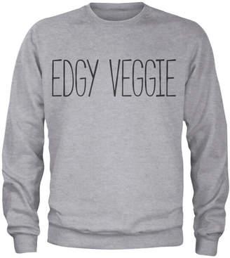 Edgy Veggie Sweatshirt - Grey
