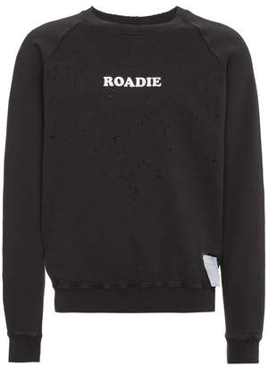 Satisfy Roadie moth eaten sweatshirt