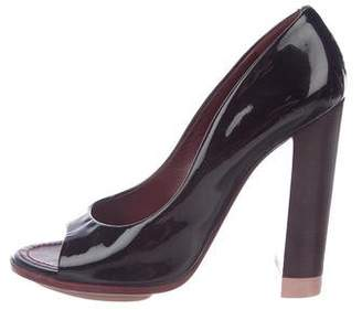 Nina Ricci Patent Leather High-Heel Sandals