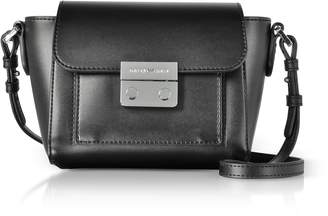 Emporio Armani Small Smooth Leather Shoulder Bag