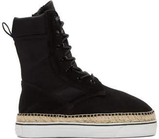 Alexander Wang Black Myles Boots
