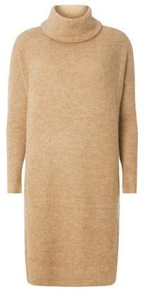 Dorothy Perkins Womens **Only Camel Cowl Neck Tunic