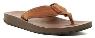 Teva Azure Leather Flip Flop (Men)