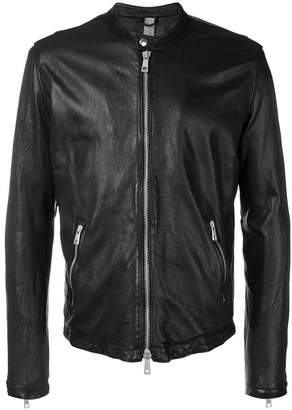 Giorgio Brato zipped leather jacket