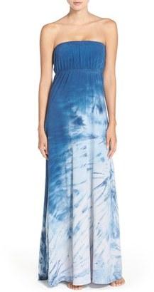 Hard Tail Stretch Cotton Maxi Dress $135 thestylecure.com