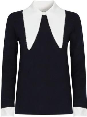 Claudie Pierlot Collar Sweater