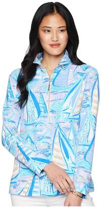 Lilly Pulitzer UPF 50+ Skipper Popover Women's Long Sleeve Pullover