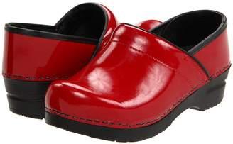 Sanita Professional Patent Women's Clog Shoes