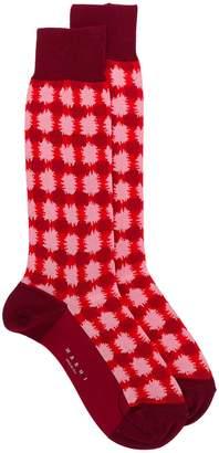 Marni checked socks