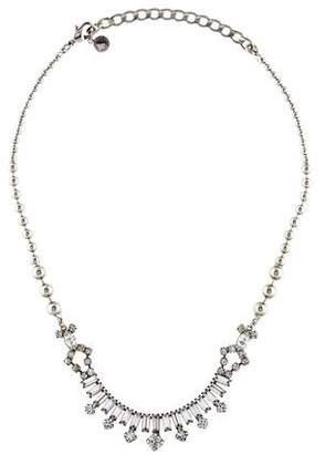 Tom Binns Crystal Skyline Baguette Necklace
