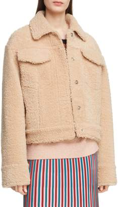 Kenzo Reversible Genuine Shearling Trucker Jacket