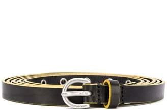 Diesel multiple-wrap belt