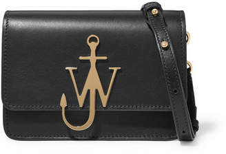 J.W.Anderson Logo Mini Leather Shoulder Bag - Black