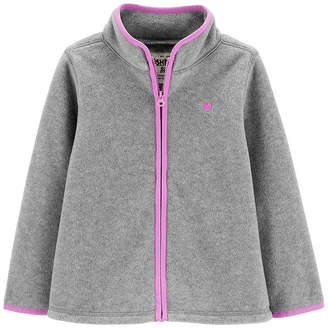 Osh Kosh Oshkosh Long Sleeve Flannel Shirt-Toddler Girls
