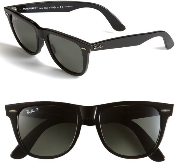 Ray-Ban 'Classic Wayfarer' Polarized 54mm Sunglasses