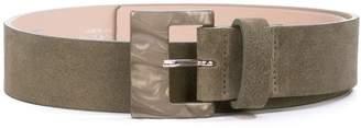 B-Low the Belt marble buckle belt
