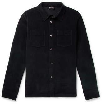 A.P.C. Joe Brushed Cotton-Twill Shirt
