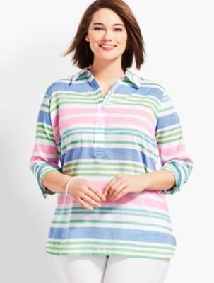 Talbots Classic Cotton Tunic-Stripe