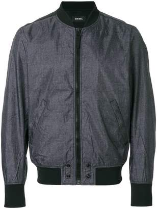 Diesel zip up bomber jacket