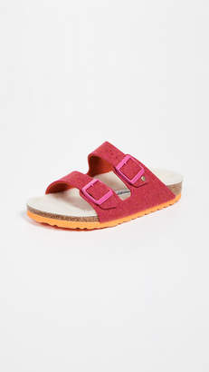 Birkenstock Arizona Happy Lamb Sandals