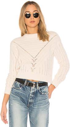 Lovers + Friends Moon Crop Sweater
