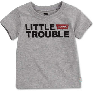 Levi's Daddy & Me Collection Baby Boys Little Trouble Graphic T-Shirt