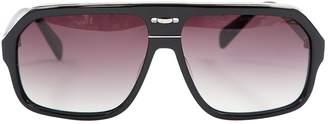 Kris Van Assche Black Plastic Sunglasses