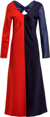 Maggie Marilyn It Takes Two Color-Blocked Midi Dress