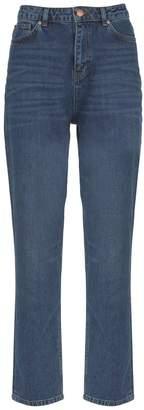 Mint Velvet Womens Melrose Dark Indigo Straight Jeans - Blue