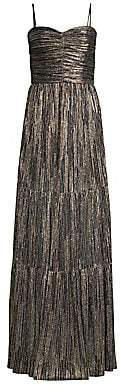 Rebecca Vallance Women's Bellagio Metallic Maxi Dress