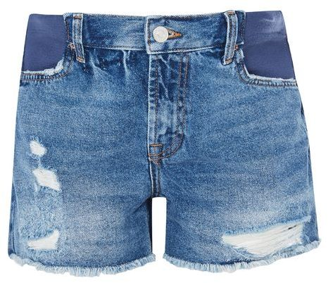 Topshop Topshop Maternity ripped ashley shorts