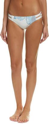 Carmen Marc Valvo Cutout Bikini Bottom