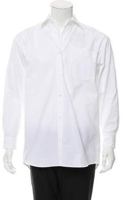 Dries Van Noten Point Collar Button-Up Shirt