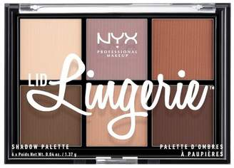 NYX Lid Lingerie Eyeshadow Palette - 0.04oz
