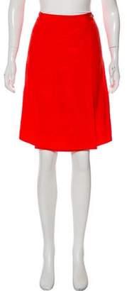 Tory Burch Knee-Length Wrap Skirt