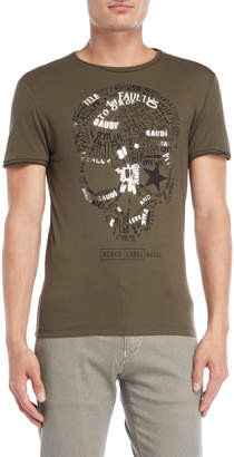 Gaudi' Gaudi Jeans Logo Skull Graphic Tee