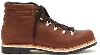 Montelliana - Alberto Lace Up Leather Boots - Mens - Tan