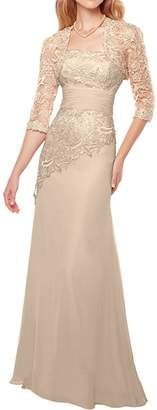 MaliaDress Women's Mother of Bride Evening Party Dress with Shawl M23LF US
