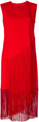 Stella McCartney fringed midi dress