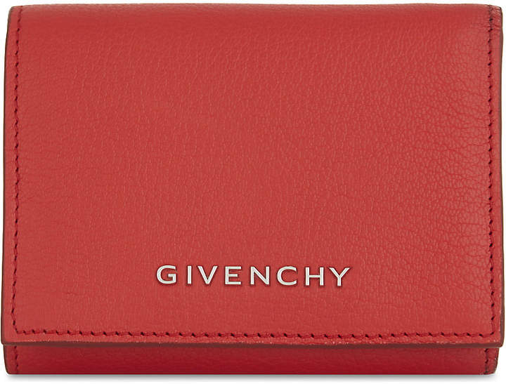 Givenchy Pandora goat leather trifold wallet
