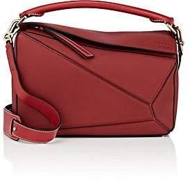 Loewe Women's Puzzle Medium Leather Shoulder Bag - Red