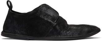 Marsèll Black Suede Strasacco Loafers