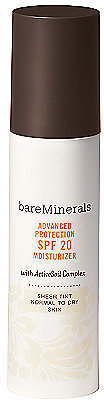 Bare Escentuals bareMinerals Advanced Protection SPF 20 Moisturizer Sheer Tint - Normal to Dry Skin
