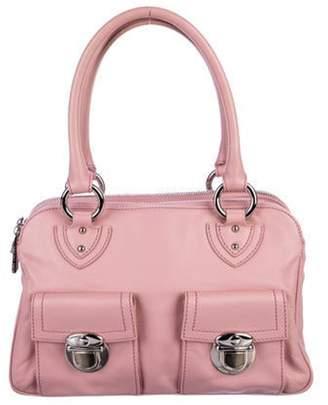 Marc Jacobs Leather Blake Shoulder Bag Pink Leather Blake Shoulder Bag