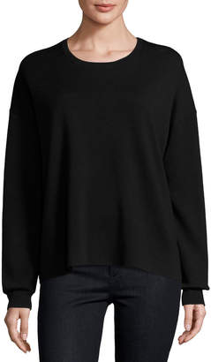 Theory Twylina Refine Flyaway-Back Sweater