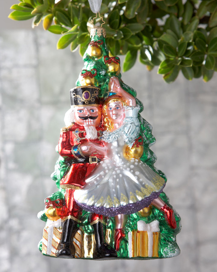 Nutcracker ballet holiday decor popsugar home for Ballet shoes christmas decoration