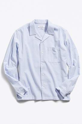 Urban Outfitters Camp Collar Snap Button-Down Shirt