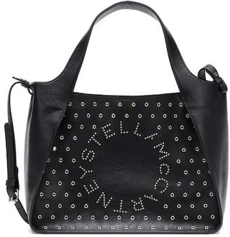 Stella McCartney Stella Logo studded crossbody bag